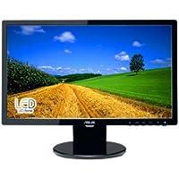 Asus VE208T 20 inch Widescreen 10,000,000:1 VGA/DVI LCD Monitor, w/ Speakers (Black)