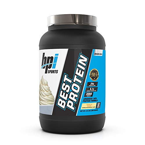 Bpi Sports Best Protein Advanced 100% Protein Formula, Vanilla Swirl, 2 Pound