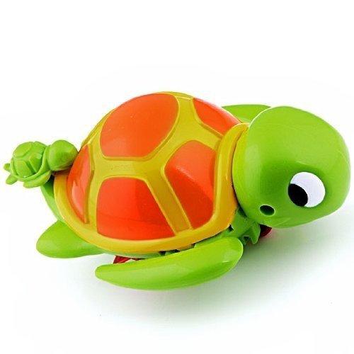 Asien Schwimmen Schildkr?te Tier Pool Spielzeug für Baby-Kind-Kind-Bad-Zeit