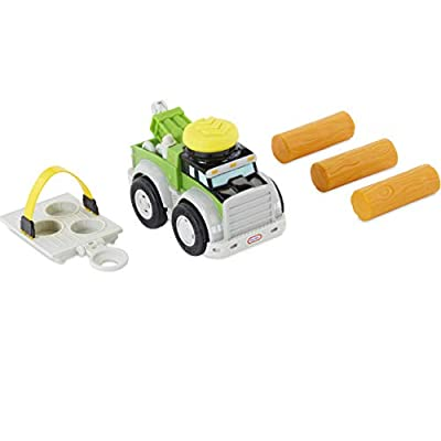 Little Tikes Slammin Racers Power Rigs Tow Truck Vehicle w/ Sounds: Toys & Games