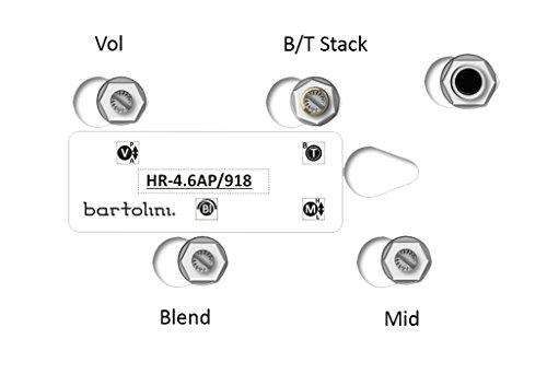 bartolini hr-4 6ap  918 preamp harness   4