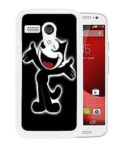 Beautiful Designed Case With Felix The Cat White For Motorola Moto G Phone Case