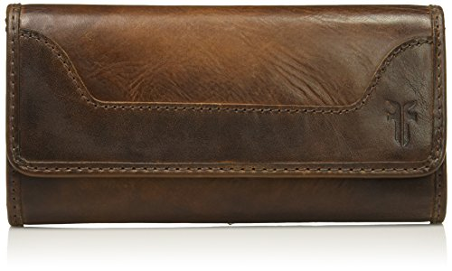 Melissa Continental Snap Wallet, Dark Brown by FRYE
