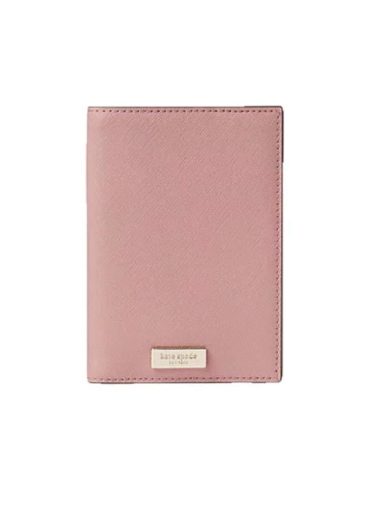 Kate Spade Lauren Way Passport Holder Dusty Peony (Lite Pink) by Kate Spade New York