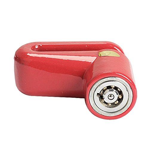 Broadroot aleaci/ón pr/áctica antirrobo disco freno rotor bloqueo para Scooter Bicicleta Motocicleta