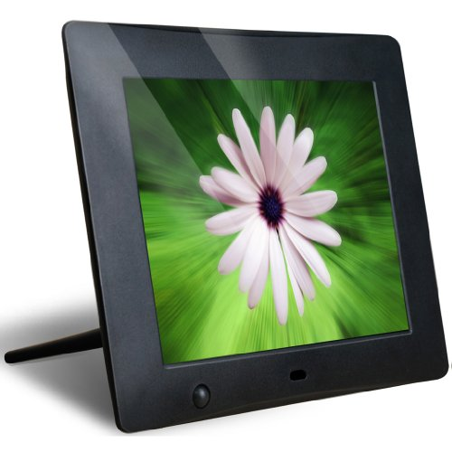 NIX X08C Hu-Motion: 8 Inch Digital Picture Frame with Motion Detection Sensor.