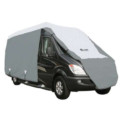 Classic Accessories OverDrive PolyPRO 3 Deluxe Class B RV Cover, Fits up to 20' long RVs - Max Weather Protection with 3-Ply Poly Fabric Roof RV Cover (80-103-141001-00)