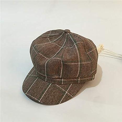 172c8252ac9d49 Image Unavailable. Image not available for. Color: Autumn Water Autumn  Winter Hats for Women Men Newsboy Cap Beret Female Male Flat ...