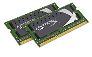 Kingston Technology HyperX PnP 8GB DDR3-1600MHz Kit - Memoria (DDR3, Portátil, Oro, 512M x 64, X8, 2 x 4 GB)