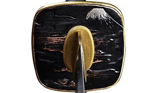Handmade Sword – Japanese Samurai Wakizashi Swords, Practical, Hand Forged, 1045/1095 Carbon Steel, Heated Tempered, Full Tang, Sharp, Wooden Scabbard