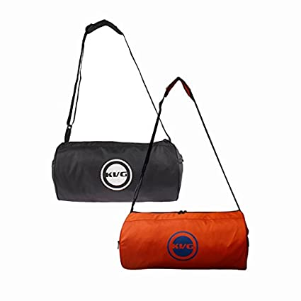 KVG Pack Of 2 Gym Bags  Amazon.in  Sports 9090e5ee8