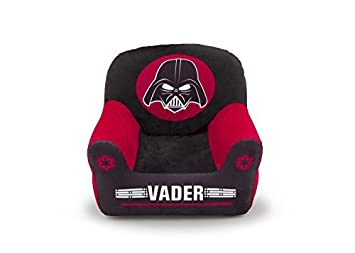 Amazon.com: Delta Children Star Wars Club silla, Darth Vader ...
