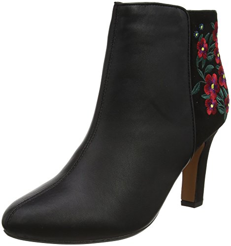 Lotus WoMen Parisa Boots Black (Black Matt/Multi)