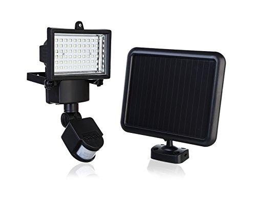 107 opinioni per Faretto ad Energia Solare con sensore di movimento a led lampada faro lampione