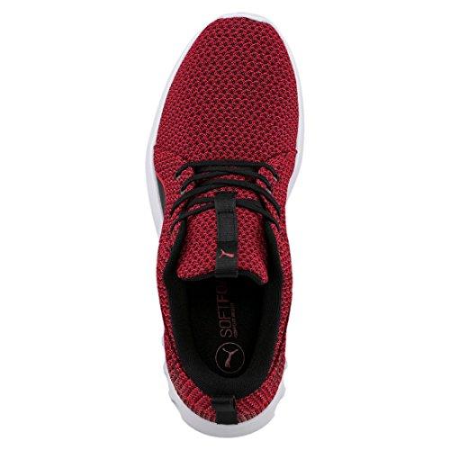 Puma Carson 2 Knit, Zapatillas de Deporte para Exterior para Hombre Negro (Toreador-black)
