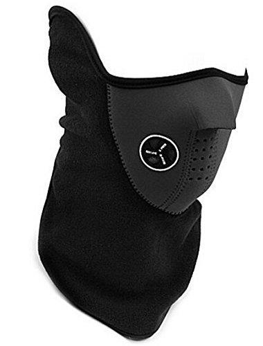 Protector para cara SKL neopreno de invierno de esquí y snowboard máscara de media cara algodón