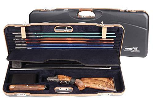 (Negrini OU Deluxe High Rib Skeet 2 Barrel Shotgun Case + Tube Set - 1652LX-TUBE/5212)