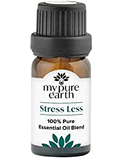 My Pure Earth Essential Oil, 100% Pure, Sustainably Sourced, Organically Crafted, Aromatherapy, Stress LESS, 10 Milliliter