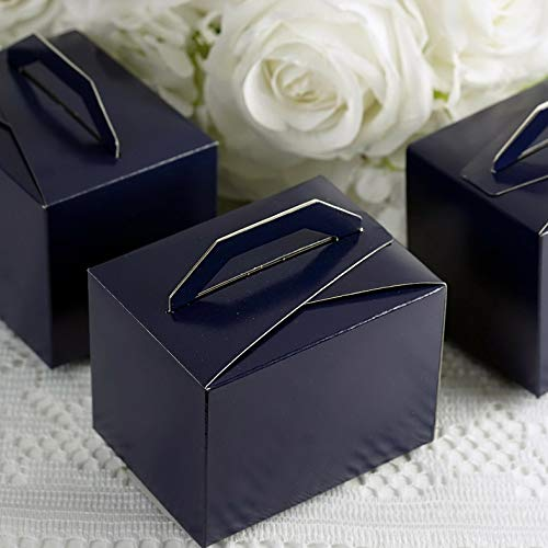 Mikash 200 Tote Boxes with Handles for Wedding Favors Ideas for Cute Decorations Sale   Model WDDNGDCRTN - 17991   ()