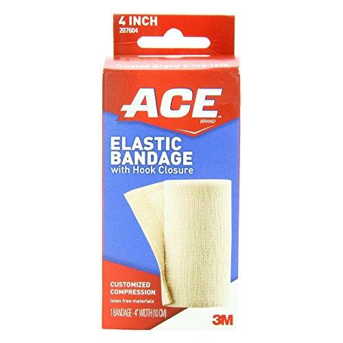 Ace Elastic Bndage W/Velc Size 1ct/4 Ace Elastic Bndage W/Ve