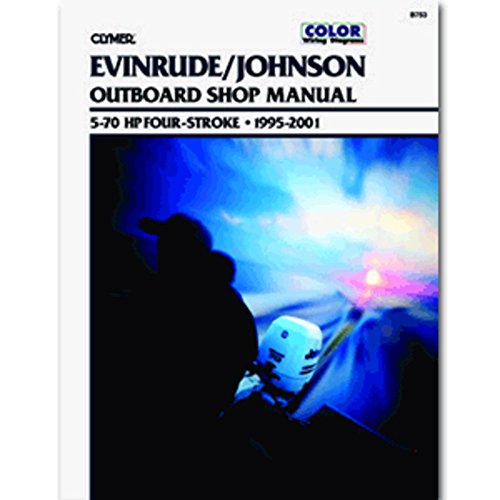Clymer Evinrude/Johnson 5-70 HP Four-Stroke Outboards (1995-2001) Marine , Boating Equipment