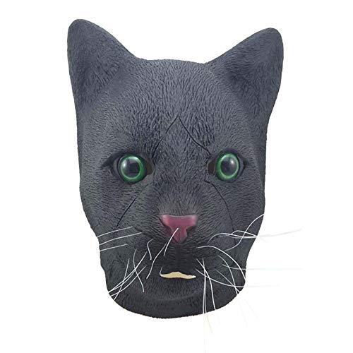 DeemoShop Halloween Mask Latex Breathable Creative Mask Props