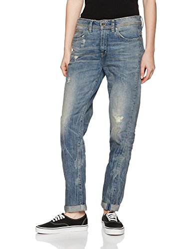Aged Saddle Wmn 1243 G Star Mujer Destroy Azul Friend Lt Jeans Midge wFF4qPz
