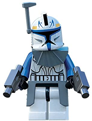 Captain Commander Rex Lego Star Wars Mini Figure with Armor Clone Wars
