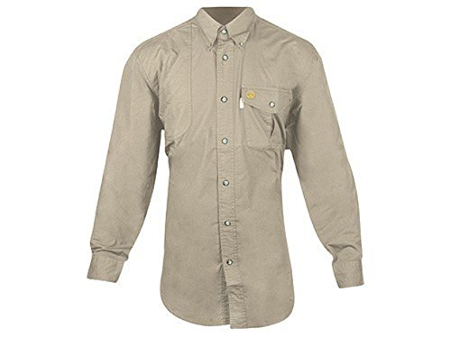 Beretta TM Shooting Long Sleeve Shirt,Hunter Tan, M