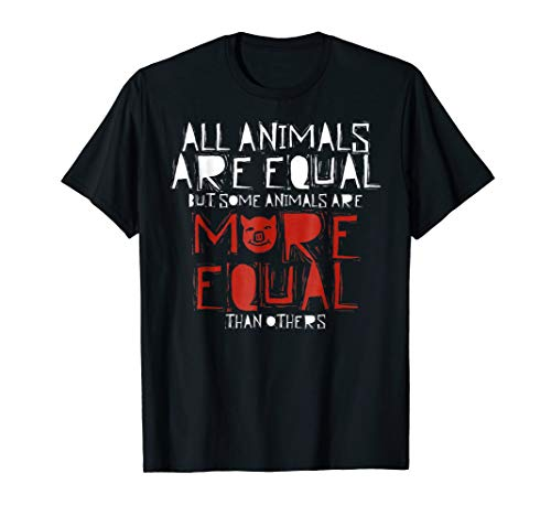 - Farm Animal Political Literary Quote T-Shirt