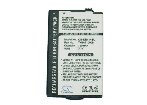 750mAh Battery For KYOCERA Rave KE434C, Rave KX433, Rave KX434