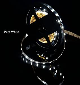 MARSWELL High-quality LED Strip Lights Pure White 6000K-6500K High CRI 80+ SMD5630 Non-waterproof
