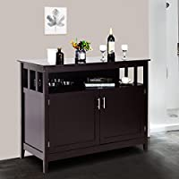 Costzon Kitchen Storage Sideboard Dining Buffet Server...