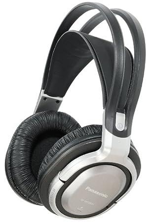 Panasonic RP-WF950EB-S - Auriculares de diadema cerrados (inalámbricos), negro y blanco: Amazon.es: Electrónica