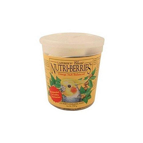 Lafebers Pet Bird (Lafeber Cockatiel Nutri-Berries Original Complete Diet (354g))