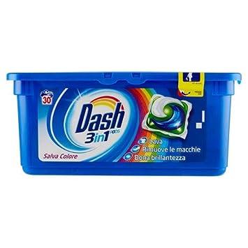Dash Detergente Lavadora de monodosi Salva Color 3 in1 30 ...