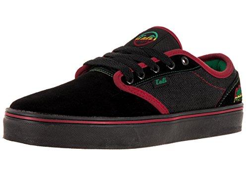Cali Strong OC Black/Rasta Skate Shoe 6 Men US