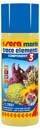Sera Marin Component 3 Trace Elements Anionics 250 Ml, 8.45 fl.oz Aquarium -