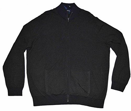 Polo Ralph Lauren Men's Full Zip Pima Cotton Cardigan Big