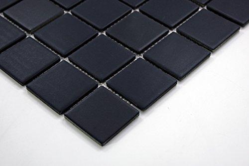 Porcelain Premium Quality 2x2 Black Square Matte Mosaic