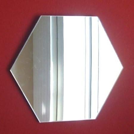 Sendmeamirror hexagonale Miroir 45/cm x 45/cm