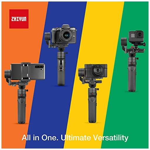 Zhiyun Crane M2 (Crane M Upgraded Version) Handheld 3-Axis Gimbal Stabilizer Compatible with Smartphone iPhone Android… Accessories