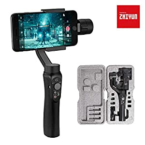 3-Axis Gimbal Stabilizer for Smartphone, Powered by ZHIYUN-Gimbal for iPhone-Android Video Recording with Handbag,Dolly Zoom, Timelapse, Panorama, CINEPEER C11 9