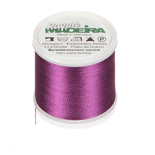 Tacony Corporation Madeira Rayon Thread Size 40 200 Meters-Purple