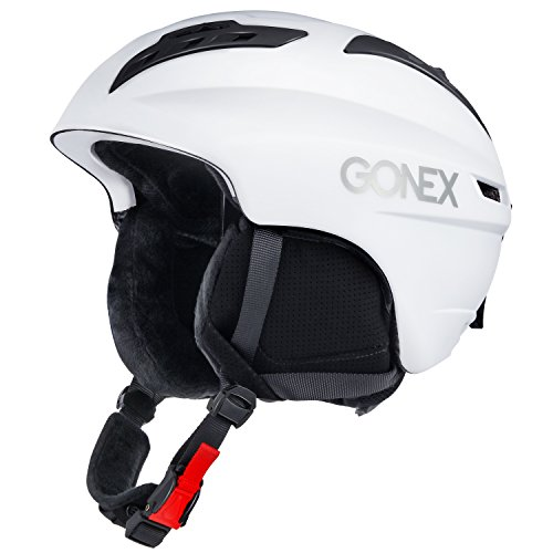 Ski Helmet, Gonex Winter Snow Snowboard Skiing Helmet with Safety Certificate for Men, Women & Young, Matte Black/ White/ Camouflage, M/L Size