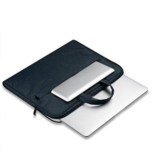 YiJee Funda Blanda para Ordenador Portátil Macbook Pro Retina 11.6 - 15.6 Pulgadas 15.6 Inch Negro