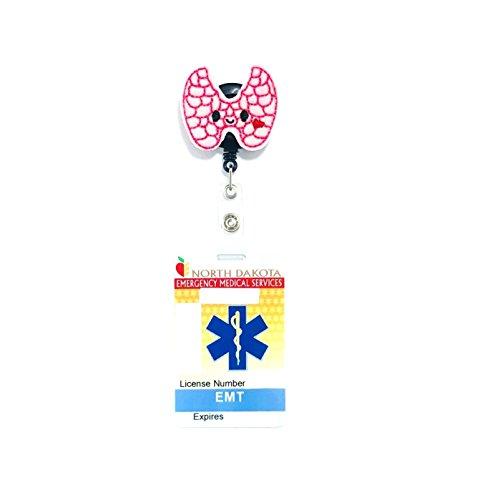 Thyroid Retractable Badge Reel
