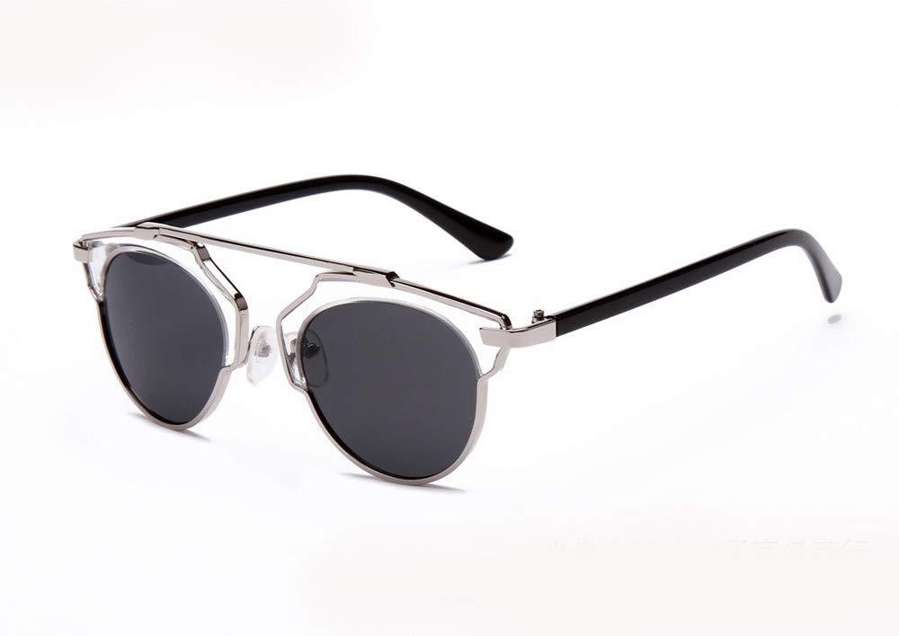 Pinleg Women Men Sunglasses Vintage Retro Glasses Unisex Fashion Mirror Lens Unisex Polarized Sunglasses (G) by Pinleg (Image #2)