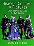 img - for Historic Costume In Pictures - Over 1450 Costumes On 125 Plates book / textbook / text book
