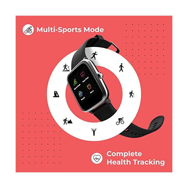 415vTvOB3eL Noise Colorfit Pro 2 Full Touch Control Smart Watch (Teal Green)
